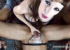 Shanda Fay Fucks A Guy WIth A Strap On!!