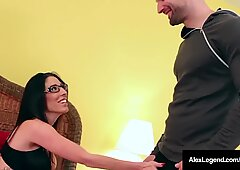 French Fuck Master Alex Legend Bangs Step Sister & Hot BFF!