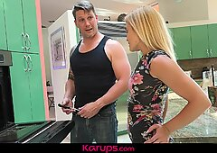 Karups - MILF Babe Blaten Lee Fucks The Repair Man