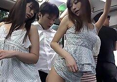 Japanese Slut Fucked On The Bus