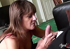 AgedLovE Mature Lady Got Hradcore Sex Experience