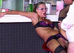 Dreckiger Sex in der Diskothek