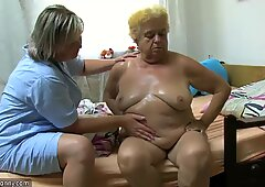 OldNanny senior granny lady lesbian