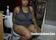 thick sexy newbie laylared gets slobbs on hairy qu