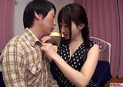 Japanese passion on a big cock by Arisa - More at Pissjp.com