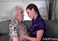 My Horny Grandmother'_s Retirement Gift- Norma D, Tiny Doll