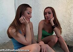 Dani Daniels' First Time With Another Girl!