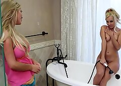Seductive Aaliyah Love and Tasha Reign please him good