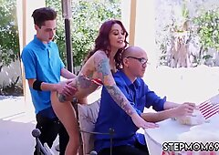 Homemade amateur mom and young milf Awesome 4th Of July Threesome - Monique Alexander
