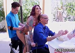 Amateur white slut and fucking my teacher Awesome 4th Of July Threesome - Monique Alexander