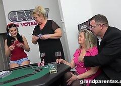 Curious Teen Learns how to Play Blackjack