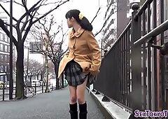 Asian sluts show panties