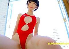 Rin Sasayama Pretty Teen Teases In Her Swimsuit