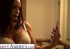 Naughty America - Diamond Foxxx fucks and sucks huband's bully