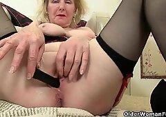 British granny craves orgasmic delight