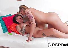 Voyeur Lesbian Fun With Christy and Dahlia