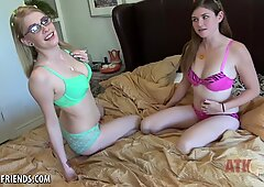 Allie James and Lara Brookes fuck you together