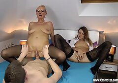 Horny tutoring with two hot teachers