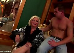Amateur mature moms gets tons of young cocks