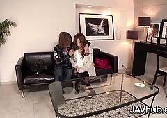 JAVHUB Hairy Japanese babe Reina Ichijo fucked hard
