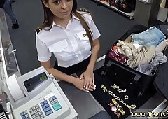 Brunette fuck that delicious ass Fucking A Sexy Latina Stewardess
