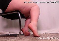 bbw misstress foot fetish