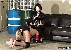 Japanese Femdom Doggy Training