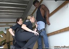 Big tit milf movieked up and fucked Black suspect taken on a rough ride