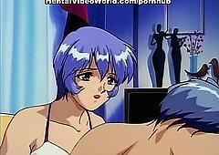 Rainy night and hot couple sex hentai orgasm