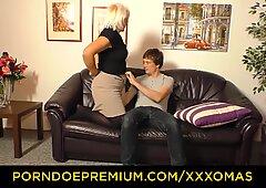 XXX OMAS - Amateur blonde granny Gabriele H. likes it rough
