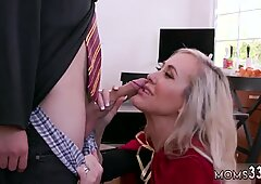 Milf drains Halloween Special With A Threesome - Kenzie Reeves