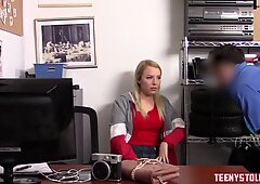 Blonde Babe Pounded Rough