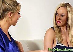 Nuru lesbian scissoring