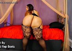 Black BBW Model Tiffany Shakes Big Ass