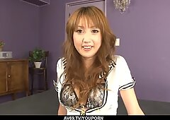 Yuki Mizuho delights with cock in both her holes - More at 69avs.com