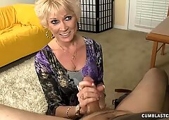 Step-mom Always wanted To suggest Him A hand-job
