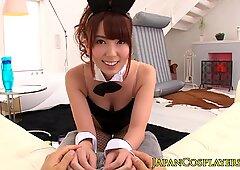 Japanese bunny girl Yui Hatano pussyfuckedReport this video