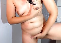 Pinay Fingering after taking a Bath