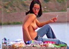 Martina Topless on a Lake
