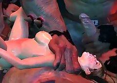 3D Hardcore Monster Xenomorph Fucking