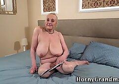 Nailed grandma creampied