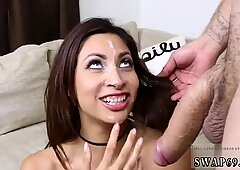 Step mom fucks boss  duddy s daughters girlcompeer in the kitchen and dad on couch