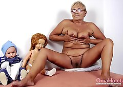 OmaHoteL Slideshow with Grannies Suck and Fuck