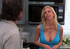 A little help from my friends part 4 with frisky MILF Alexis Fawx 5