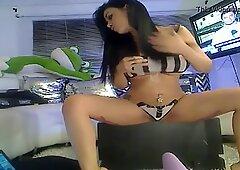 Latina on webcam stripping and masturbating part 1 - See more at(adf.ly/1mfL64)