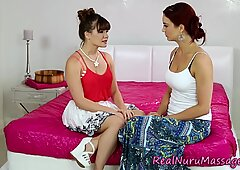 Nuru covered lesbians