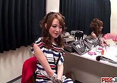 Mai Shirosaki throats cock clothed - More at Pissjp.com