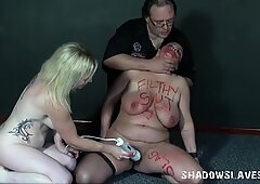 Lesbian marionettes freaky insertions and gonzo domination sex of amateur bb