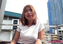 Thai Creampie pussy with Japan sperm