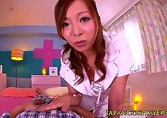 Japanese nurse doggystyle pussyfucked